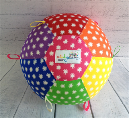 Balloon Ball: Taggie: Rainbow Spots